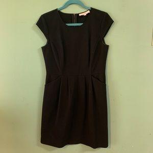 Loft Pleated Pocket Dress